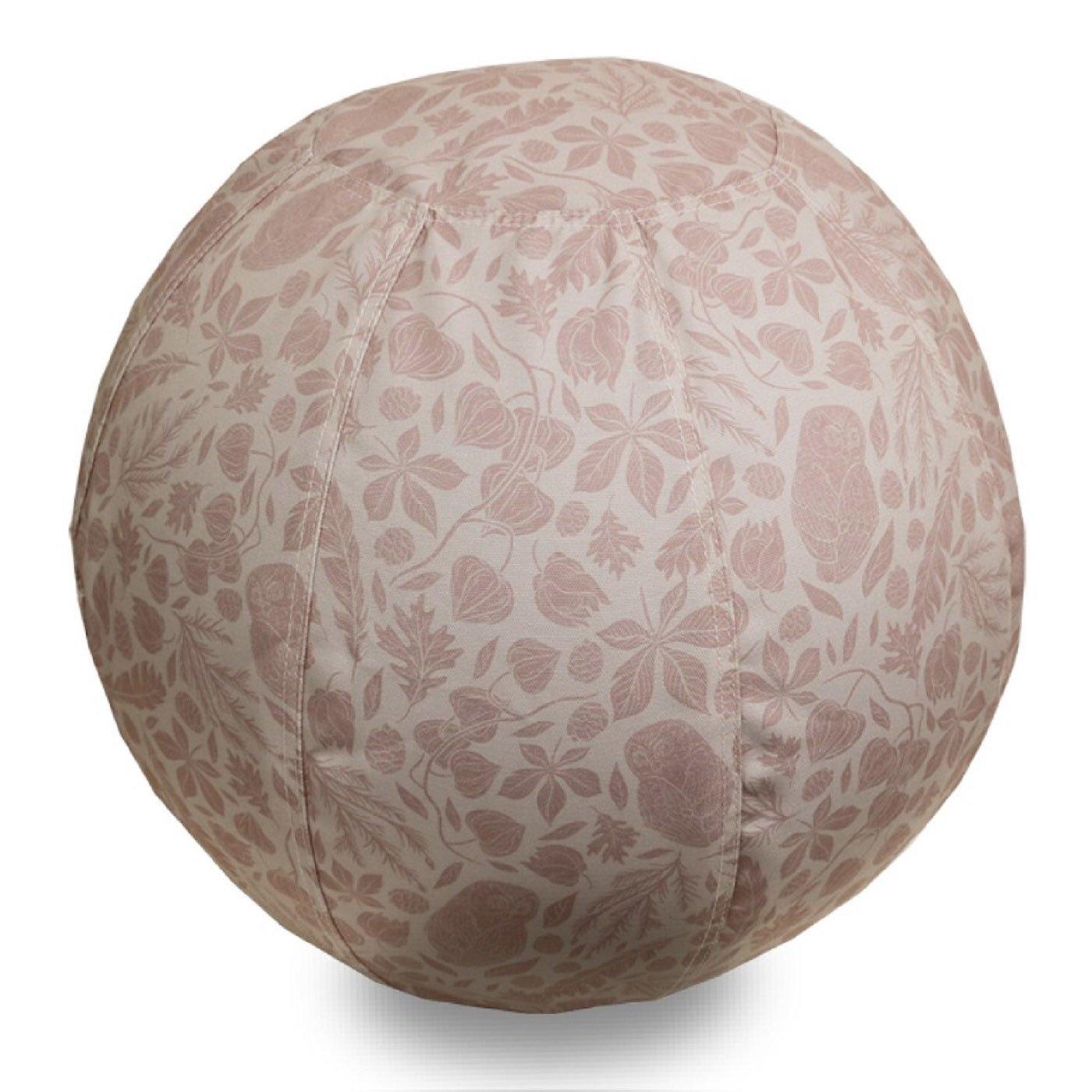 北欧をイメージした 部屋を彩るバランスボール〈隠れふくろう/55cm〉