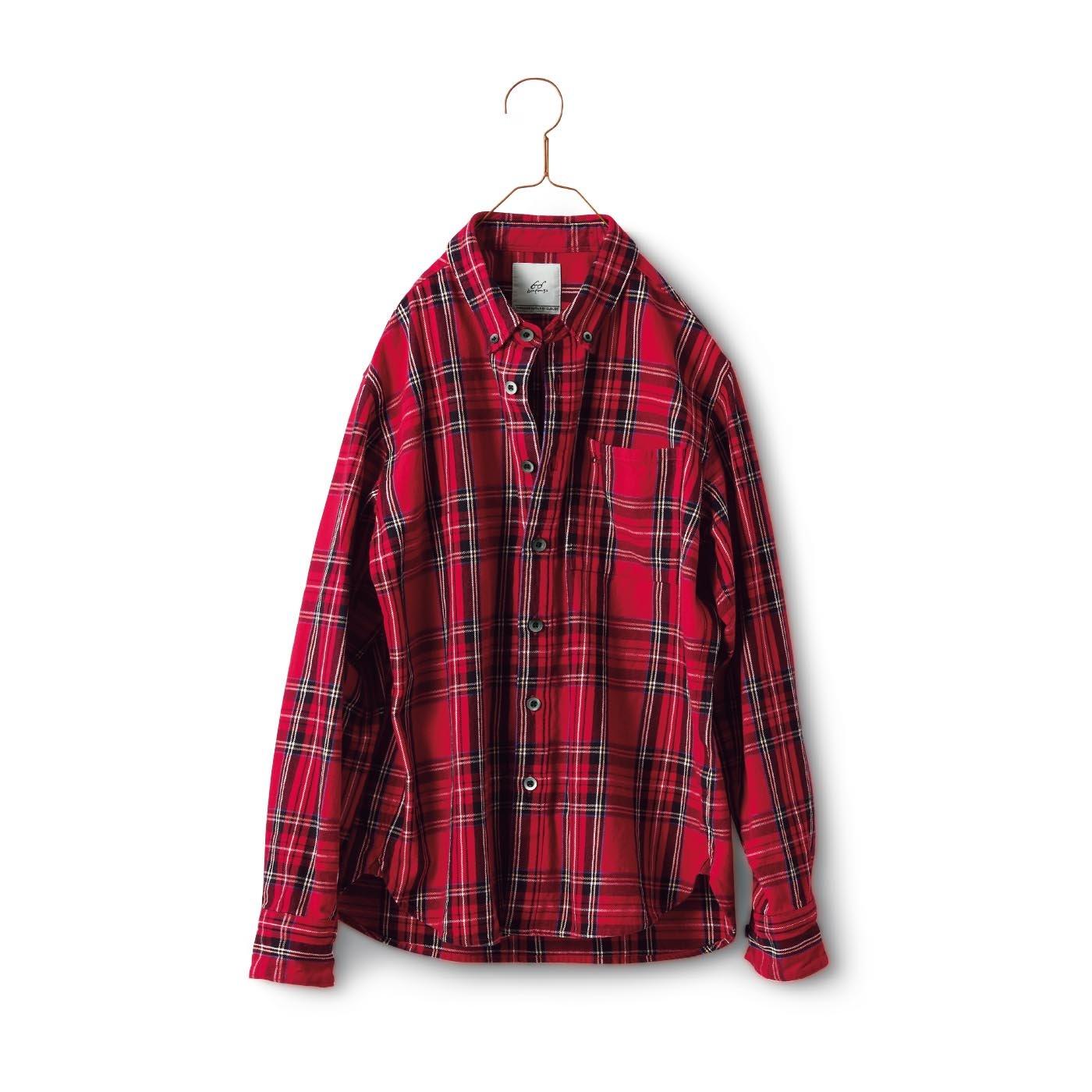 サニークラウズ  bonさんのボタンダウンシャツ〈メンズ〉