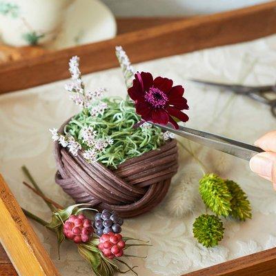 フェリシモ【定期便】新規購入キャンペーン アフィリエイトプログラムフェリシモ 自然の花のようなみずみずしさ 移りゆく季節を楽しむプリザーブドフラワーアレンジ