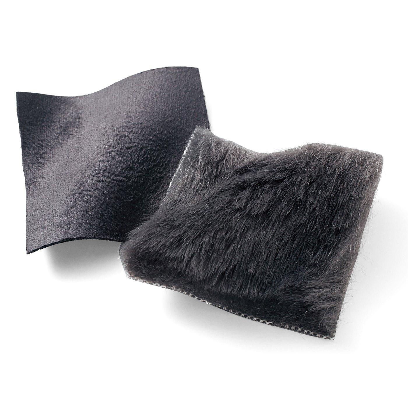 【万能チャコールグレー】しゃがんでも痛くないやわらか素材。黒よりおしゃれなチャコールで合わせやすい万能カラーです。