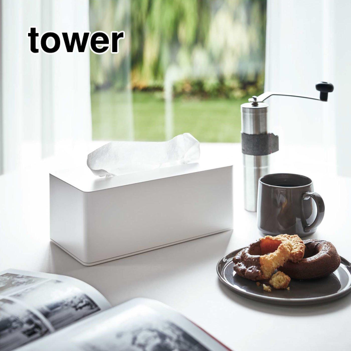 tower 厚型対応ティッシュケース(木ネジタイプ)