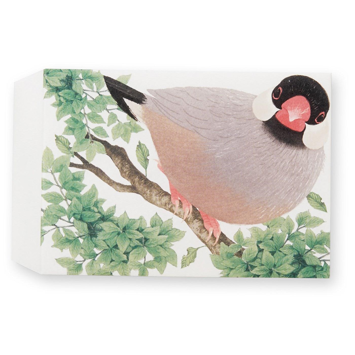 桜文鳥 そのままぽち袋として