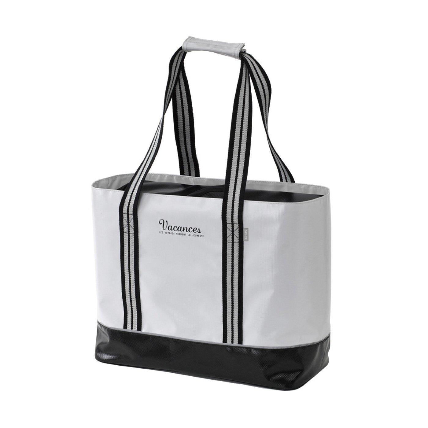 荷物が増えたらバッグを2つに バカンス バッグインクーラー
