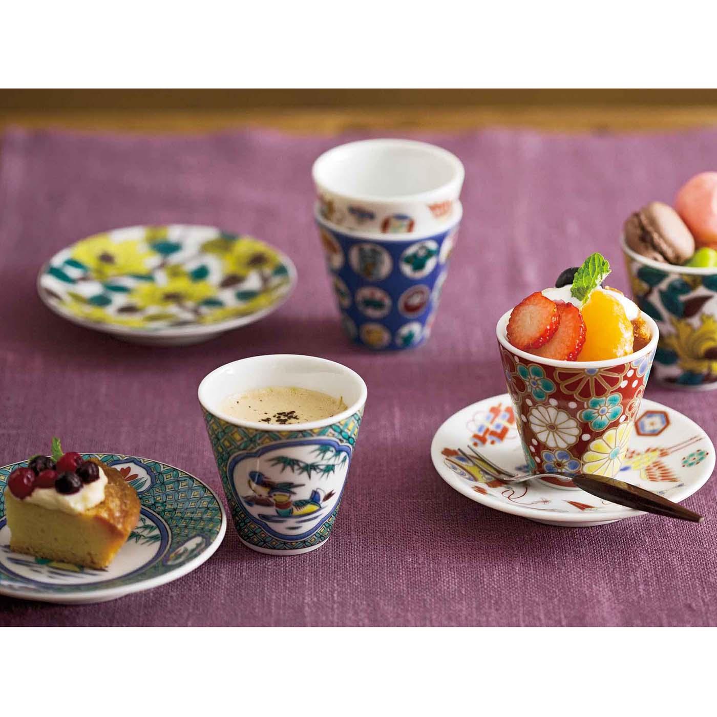 これは参考画像です。 小さめカップの受け皿にしたり、お菓子をのせておもてなしに。