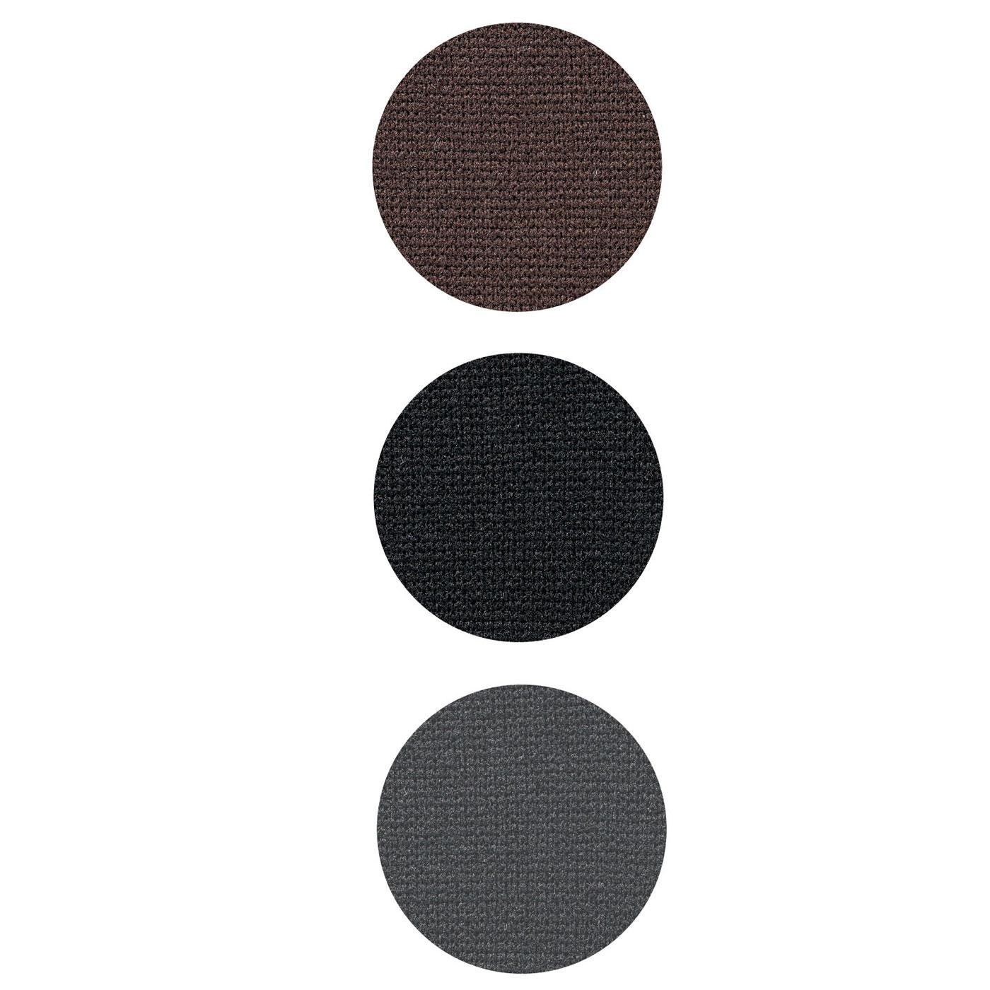 〈ブラウン〉〈ブラック〉〈ダークグレー〉の3色展開。