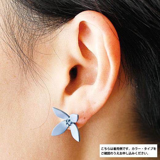 イラストレーター 山本祐布子さんと作った 色と形で耳もとを彩る モチーフピアス&イヤリング-
