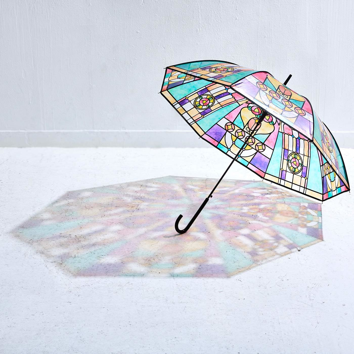 YOU+MORE! 広げればあこがれの世界 大正ロマンなステンドグラスの傘