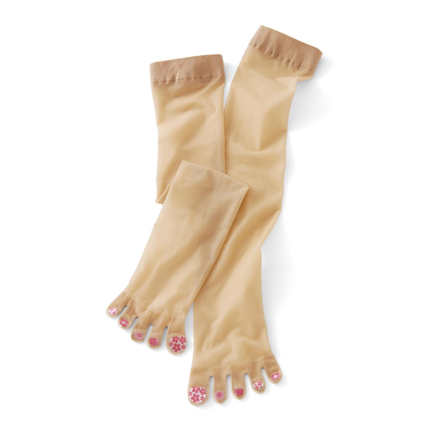 なま足よりきれいに見せるカラー。