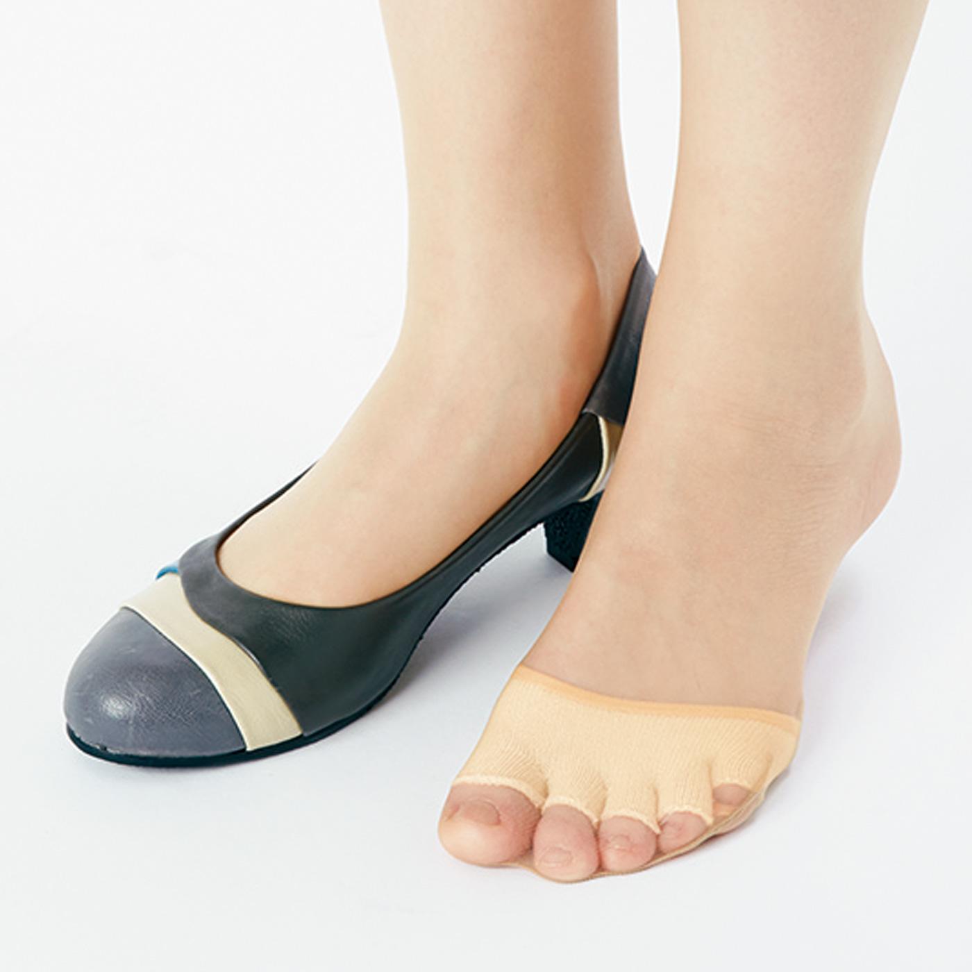 ヒールのある靴にオススメ。