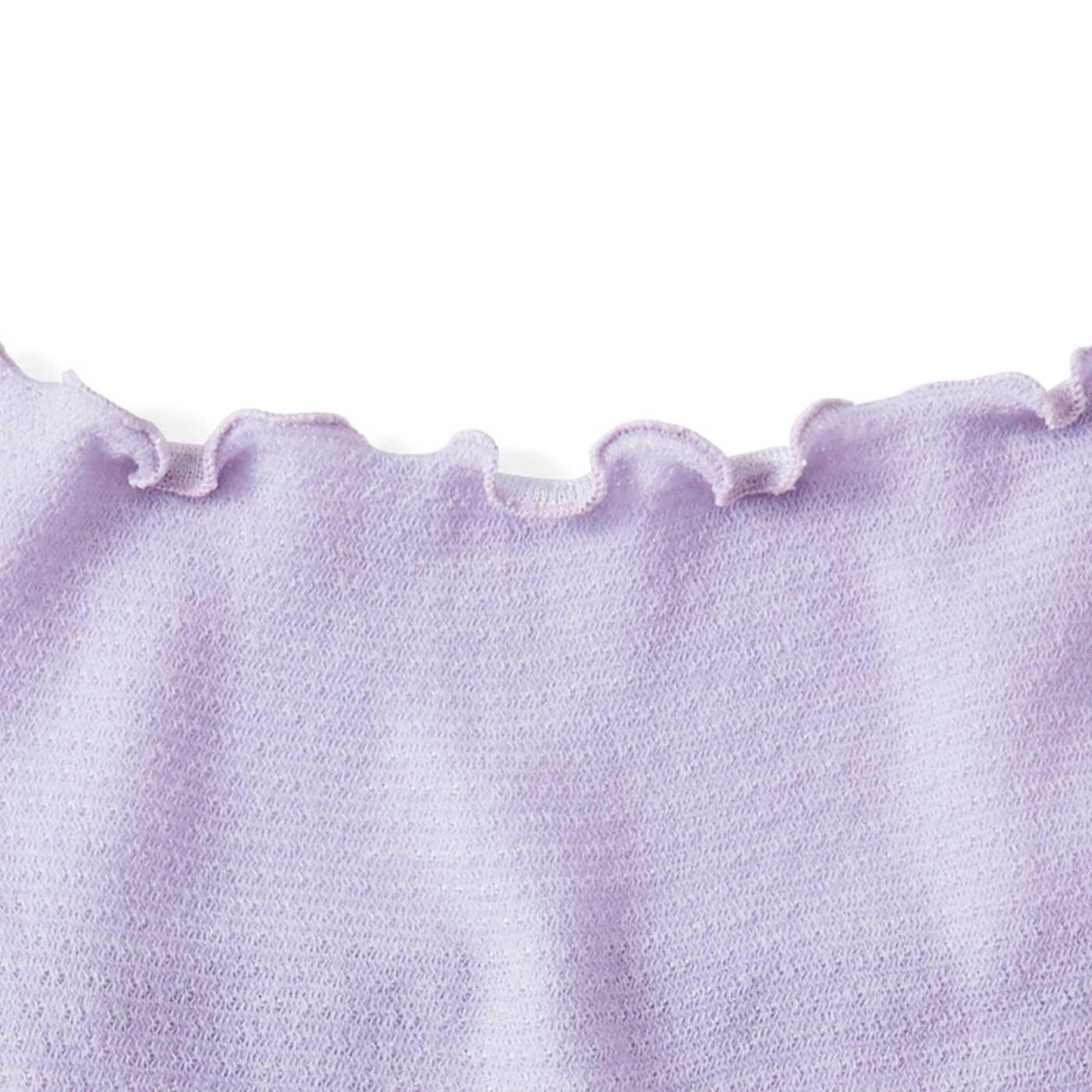 ノンゴムで縫い目が肌に当たりにくいメロウ仕上げ。