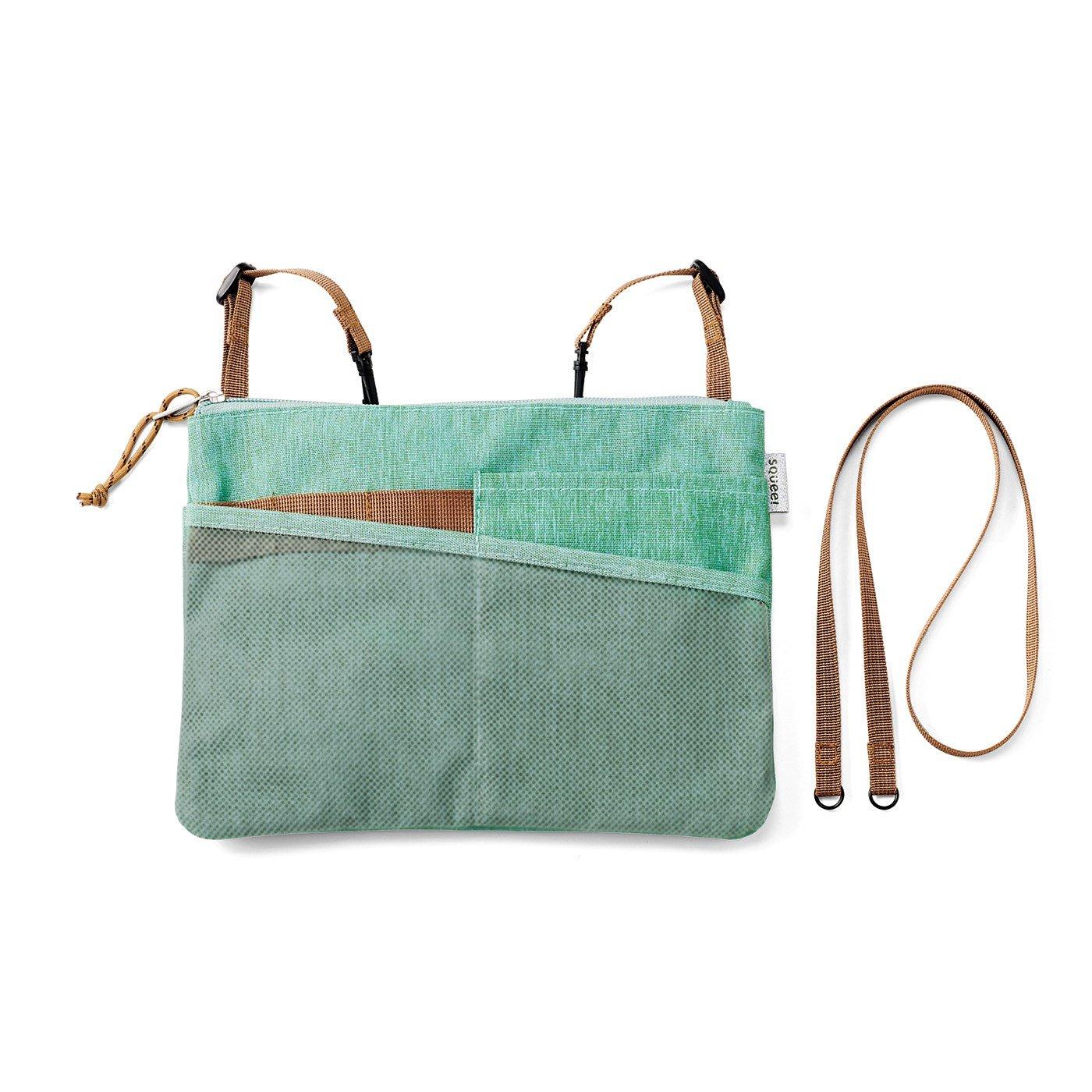 Squee! お手持ちのバッグに付けてポケットとしても使える はっ水サコッシュの会