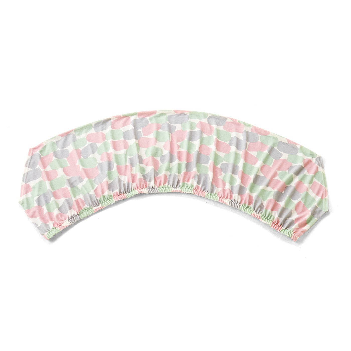 365日快眠仕立て 滑らかパイルが気持ちいい プリズム柄の衿カバーの会