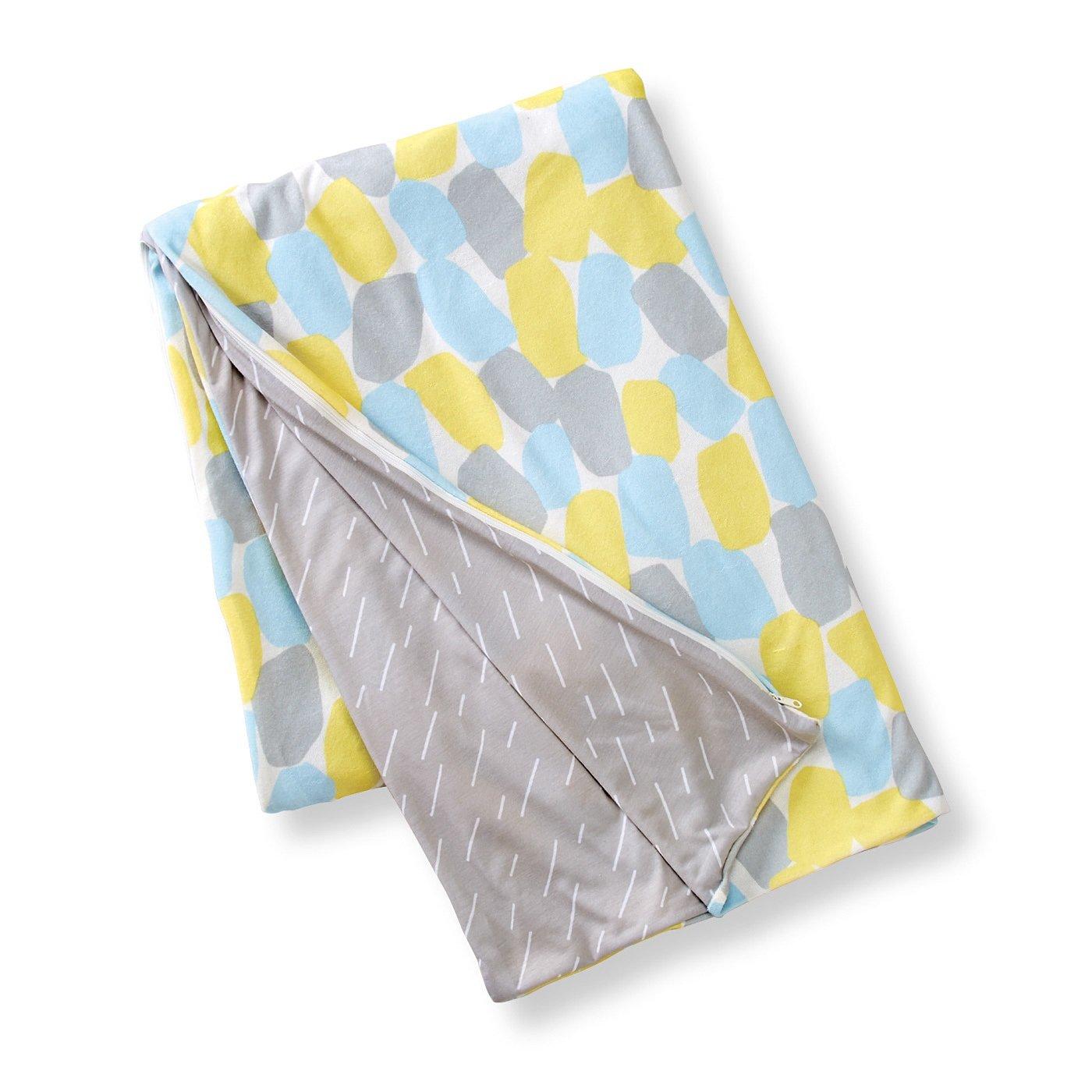 365日快眠仕立て 滑らかパイルが気持ちいい プリズム柄の掛け布団カバー〈シングル〉の会
