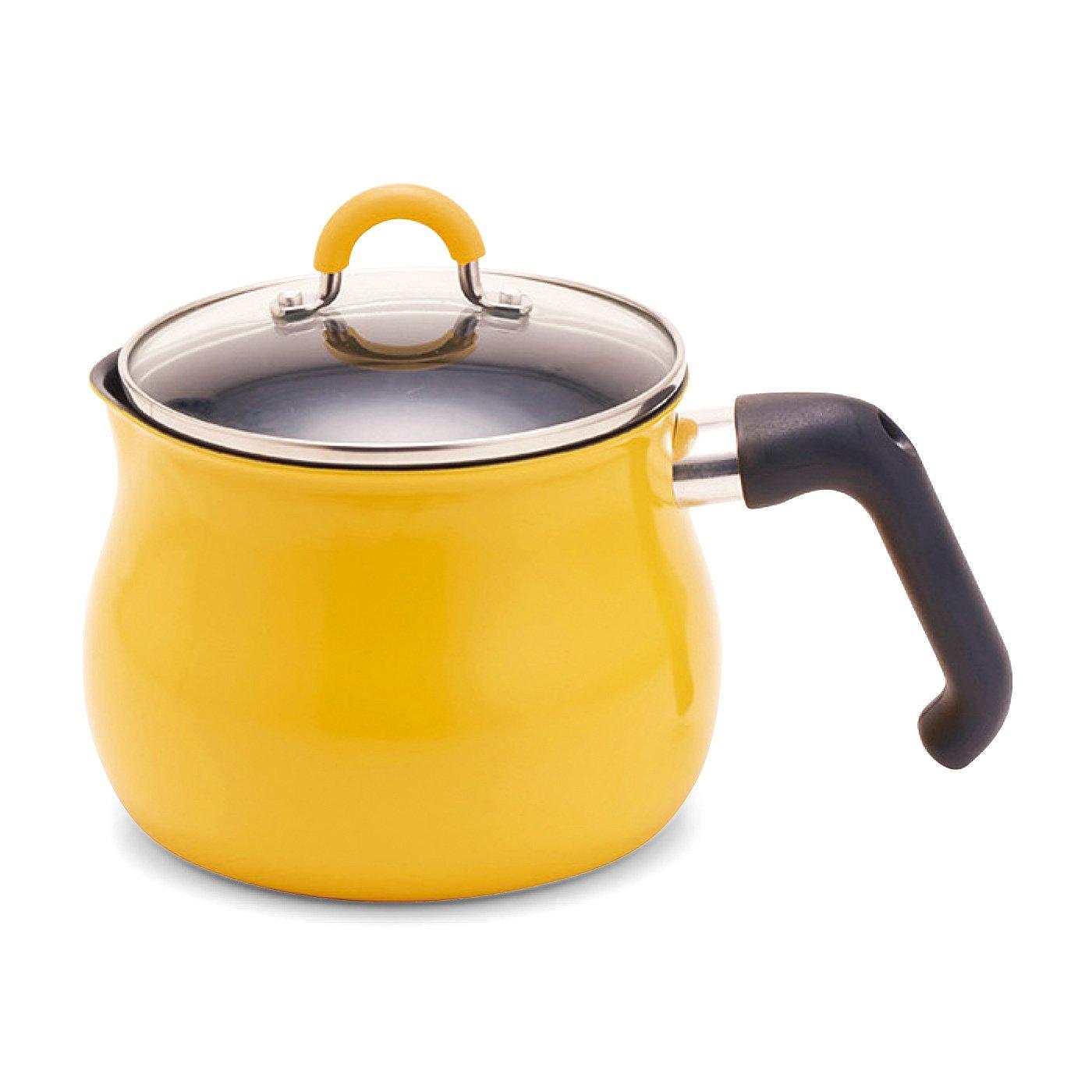 いろいろな鍋の役割をギューッとひとつに 7通りに使えるマルチポット〈イエロー〉
