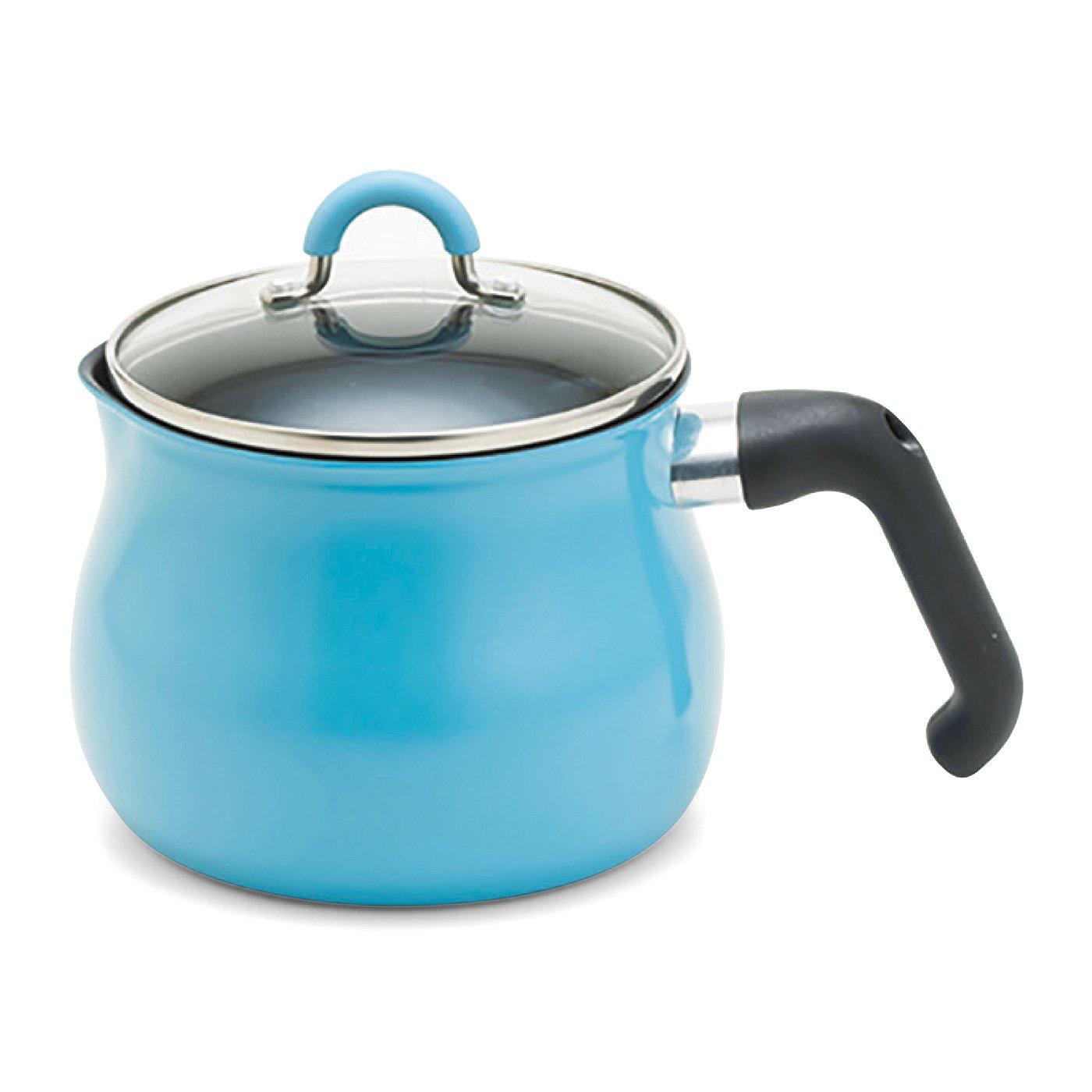 いろいろな鍋の役割をギューッとひとつに 7通りに使えるマルチポット〈ブルー〉