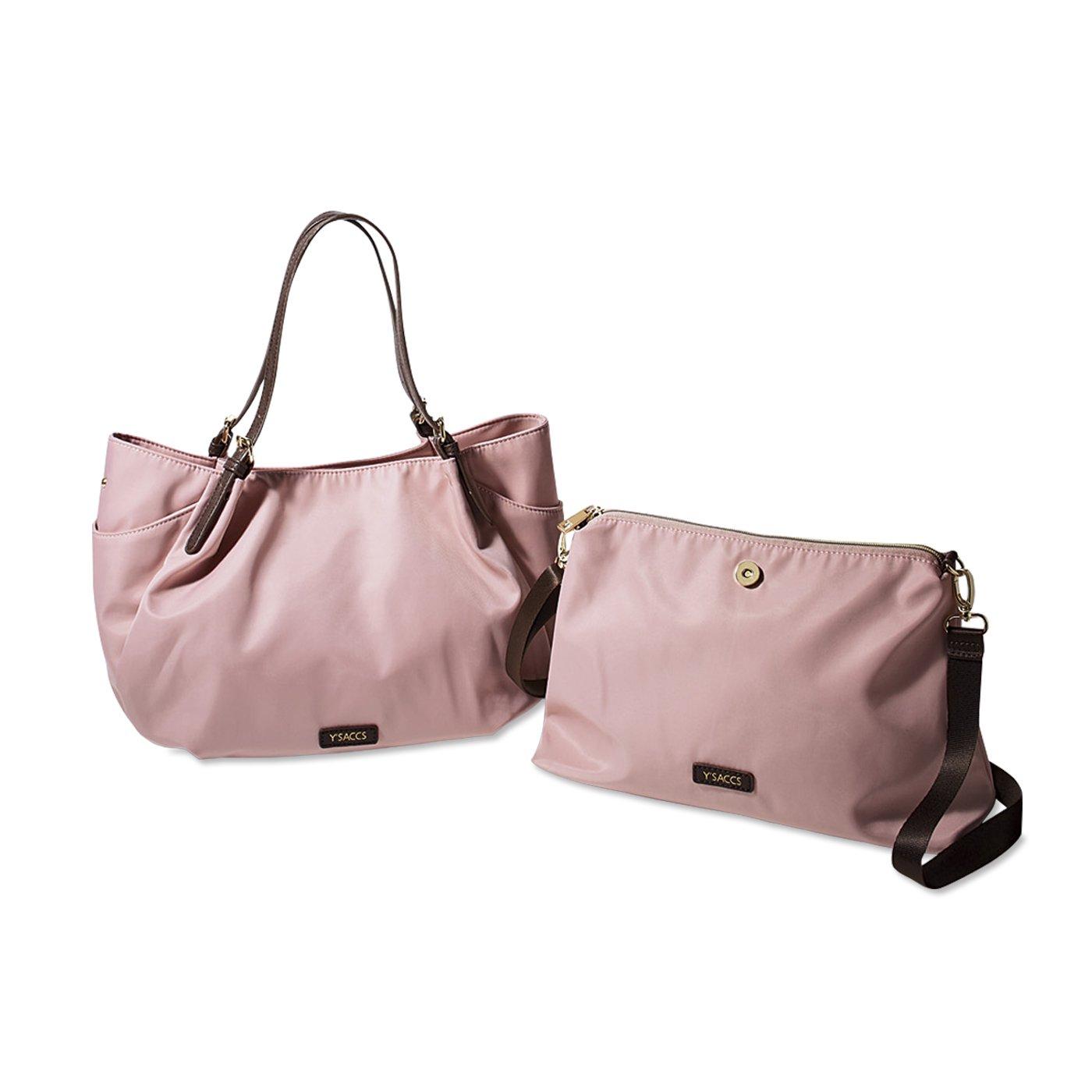 Y'SACCS×IEDIT コーディネイトを華やかにする親子バッグ〈ピンク〉