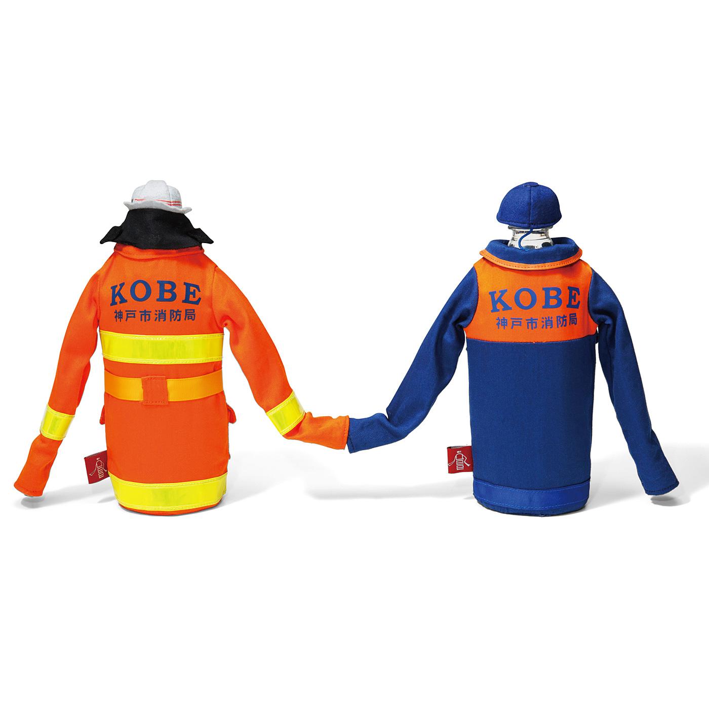 袖口の留め具で、手をつなぐことができます。 後ろ姿や細部にまでこだわった本格仕様です。※オレンジは販売終了しました。