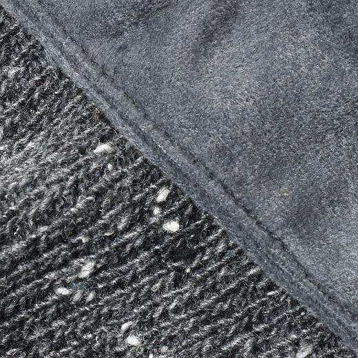 表地は、見た目はリッチだけど扱いやすいスエード調のポリエステル素材を使用。