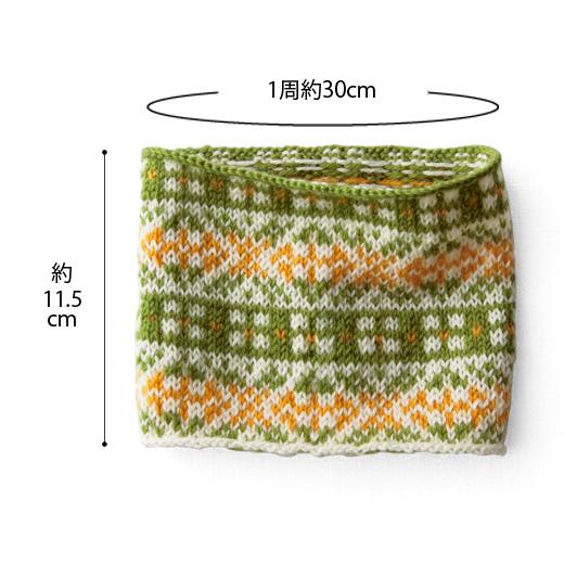 1回のお届けでこの大きさまで編めます。