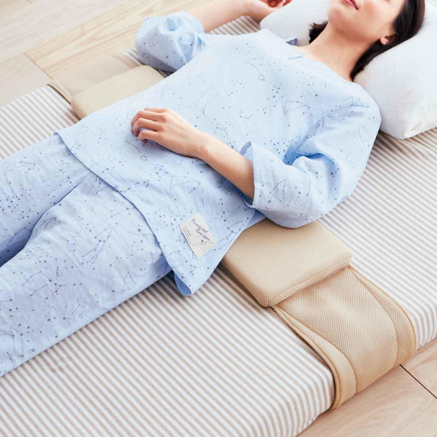 腰まくら習慣始めよう  へたり腰を支える部分敷きパッド