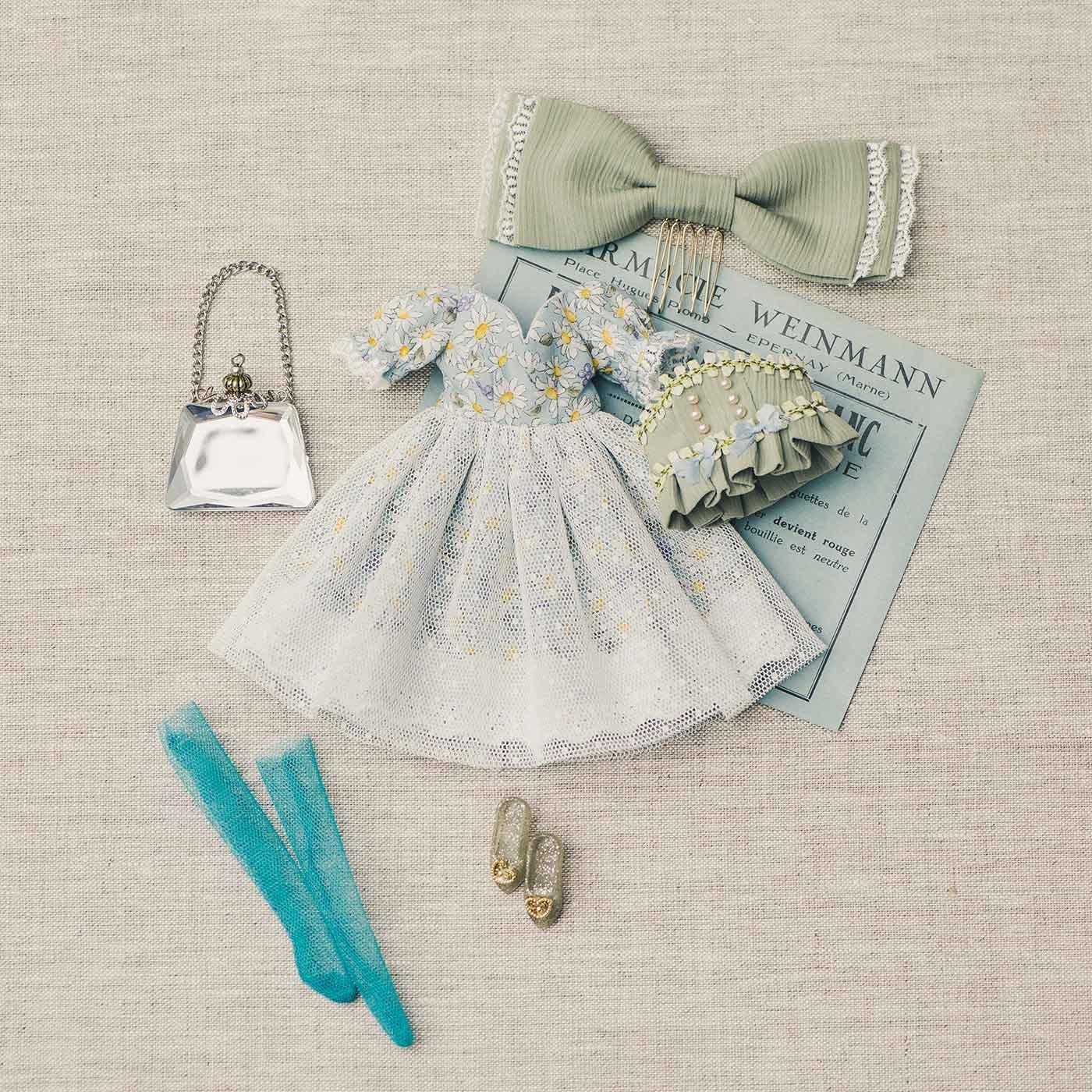 お人形さんのためのちいさなファブリック ロマンティックセット