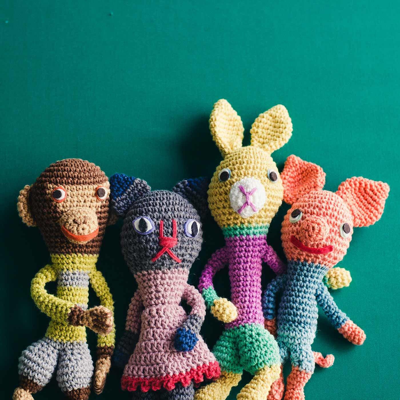 フランス生まれのヴィラージュ仲間 ChibiRuさんのかぎ針編みぐるみの会