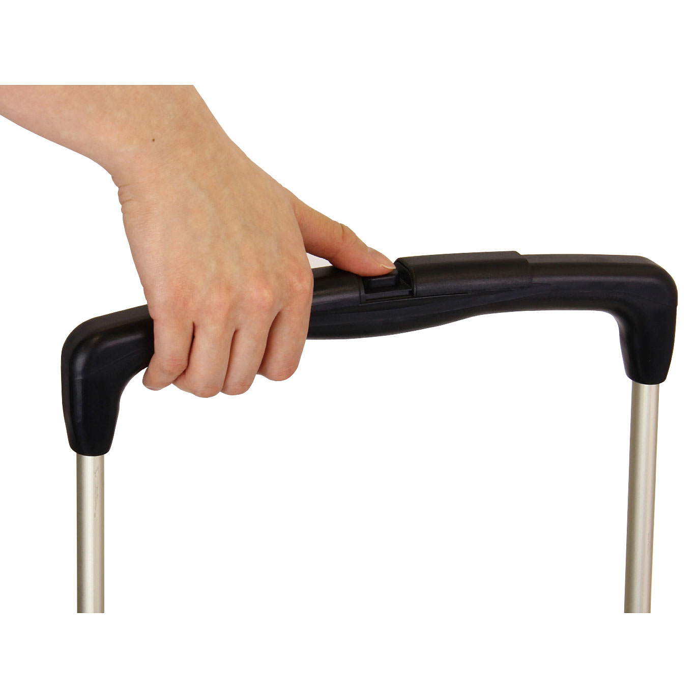 手元でできる高さ調節。手元のボタンを押すだけで簡単に高さが調節できます。