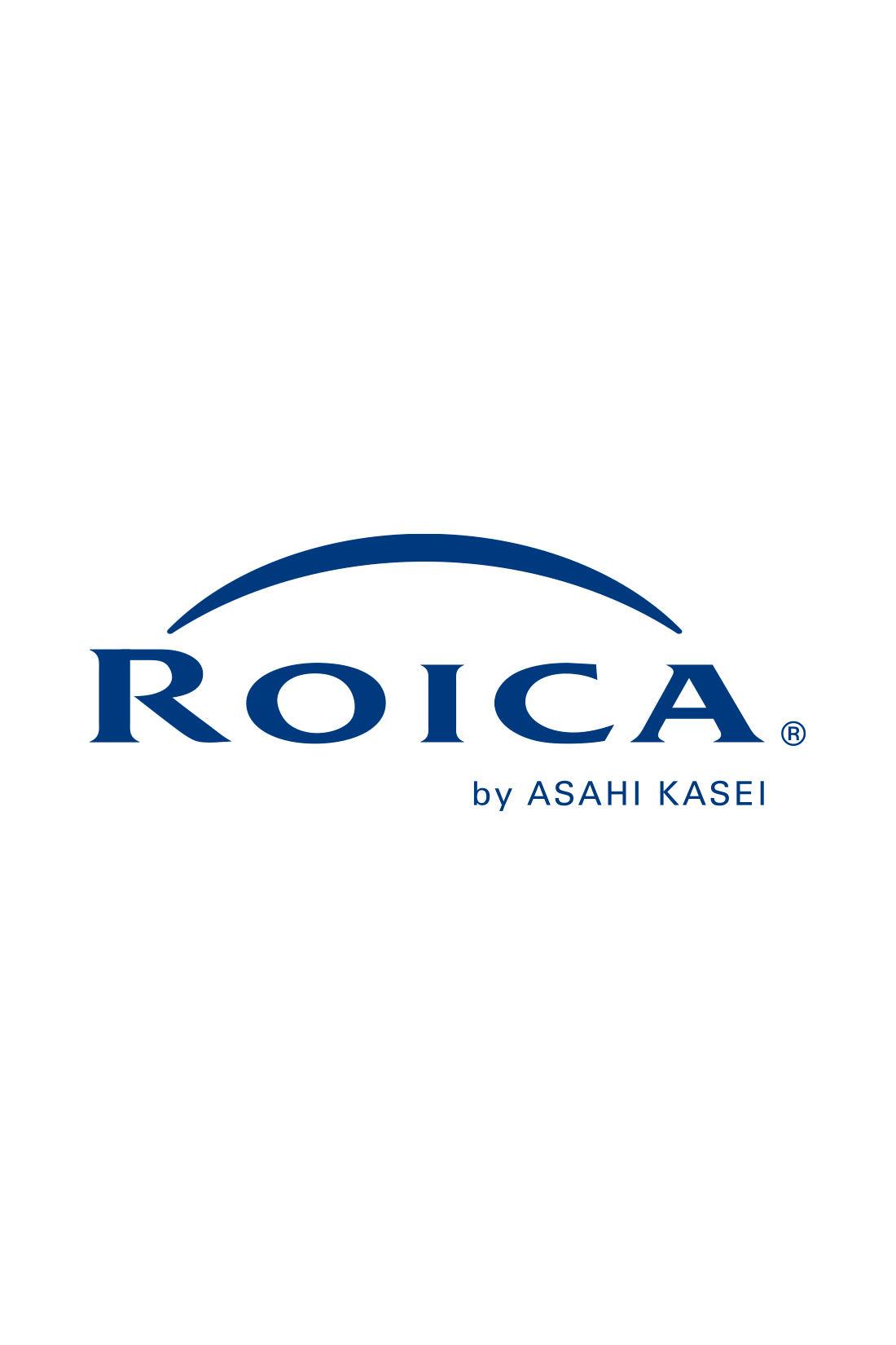「ROICA(R)」はストレッチ性に優れ、体に心地よくフィットする旭化成(株)の高品質ウレタン繊維です。