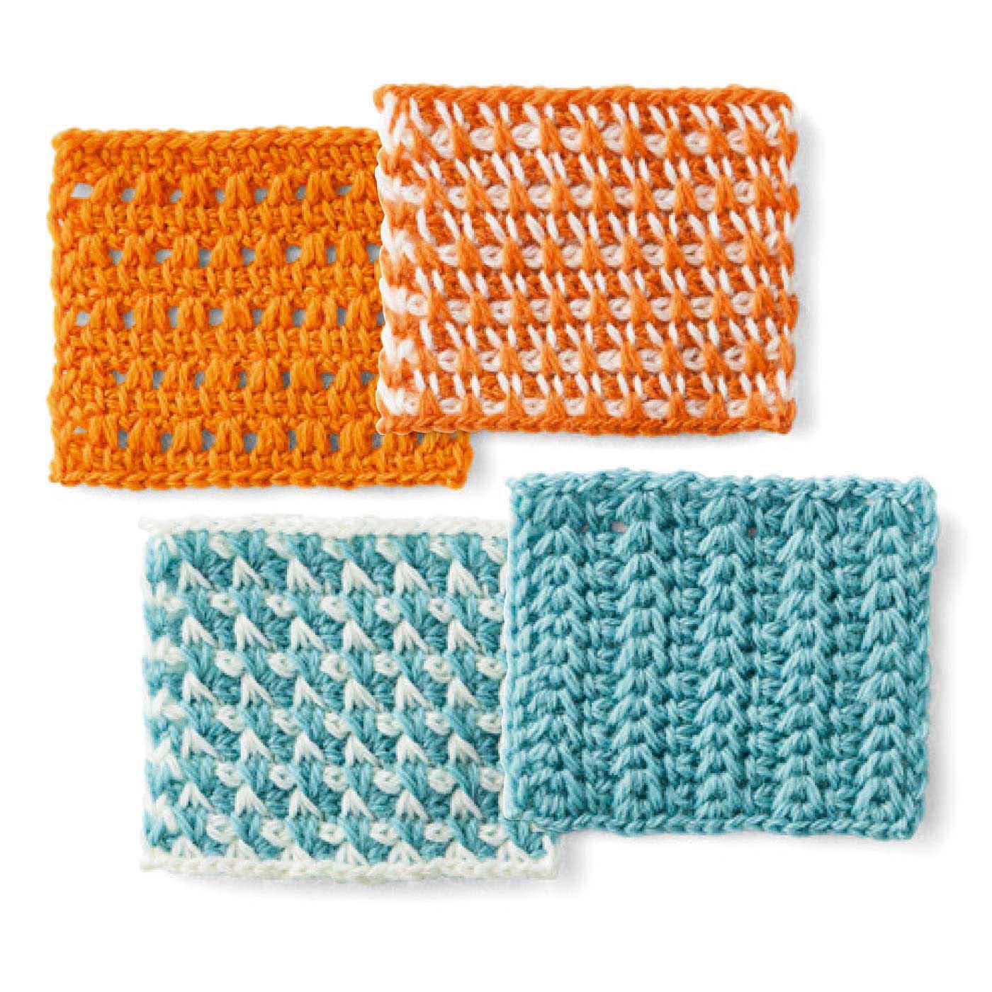模様編み 1