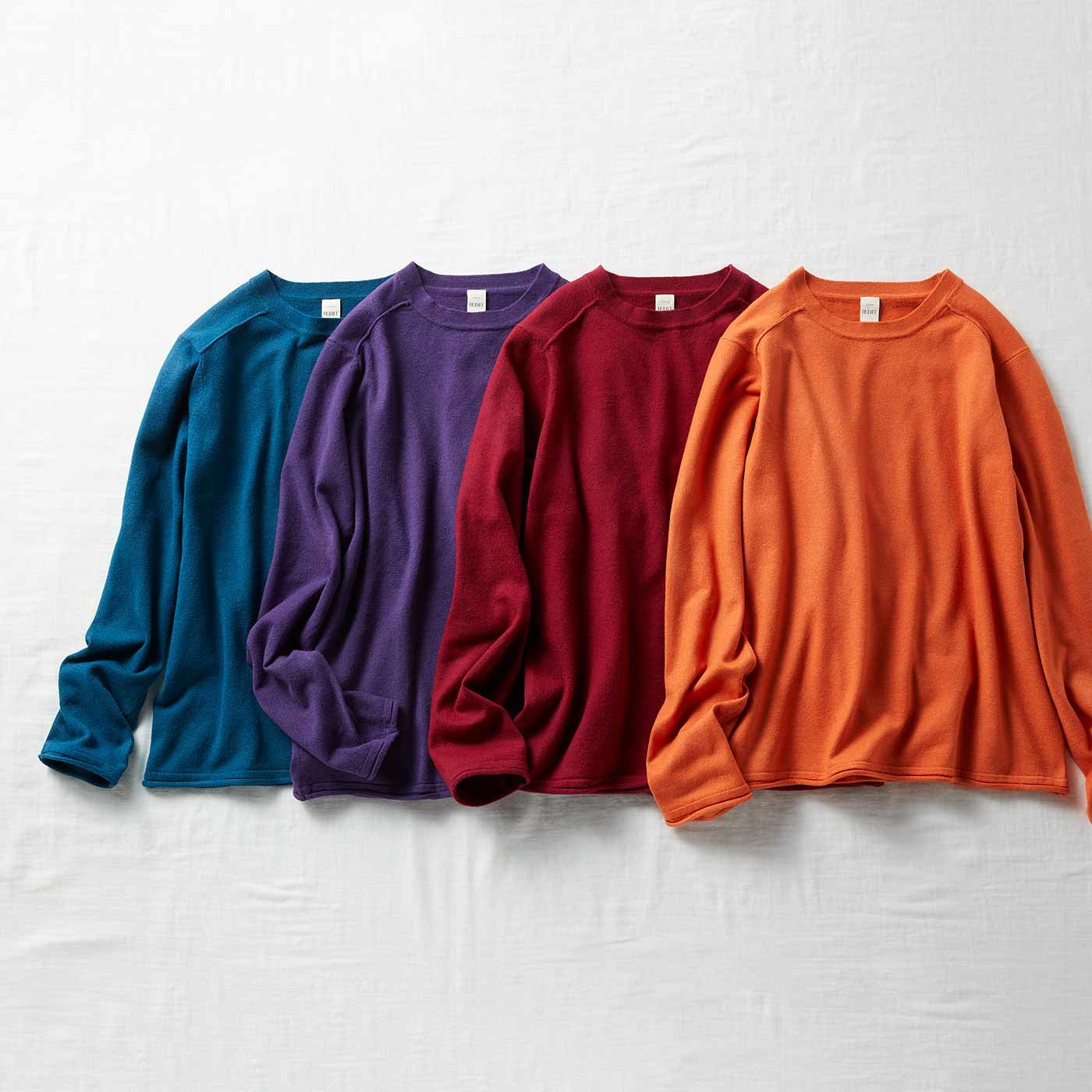 IEDIT[イディット] 着心地伸びやか毎日着たくなる ニットTシャツの会