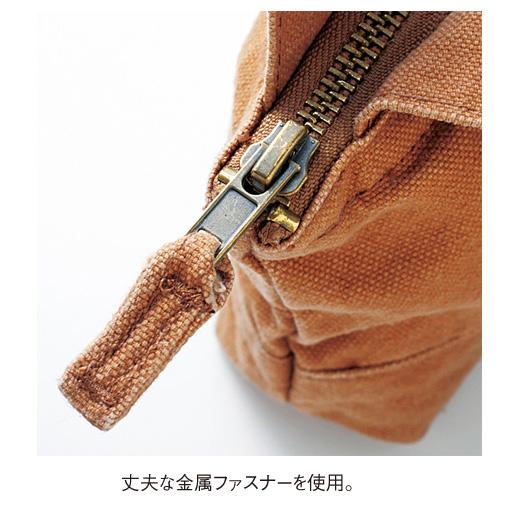 丈夫な金属ファスナーを使用。