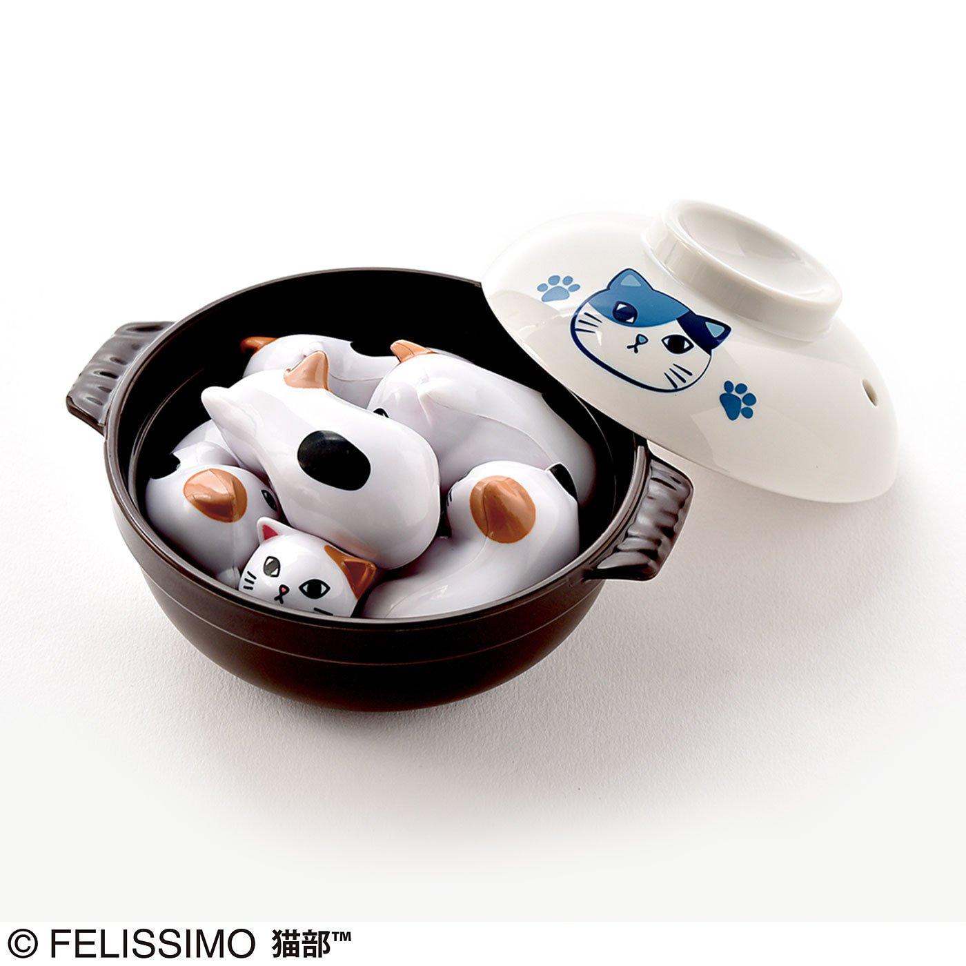 フェリシモ猫部 にゃんこ鍋パズル ツンデレにゃんバージョン