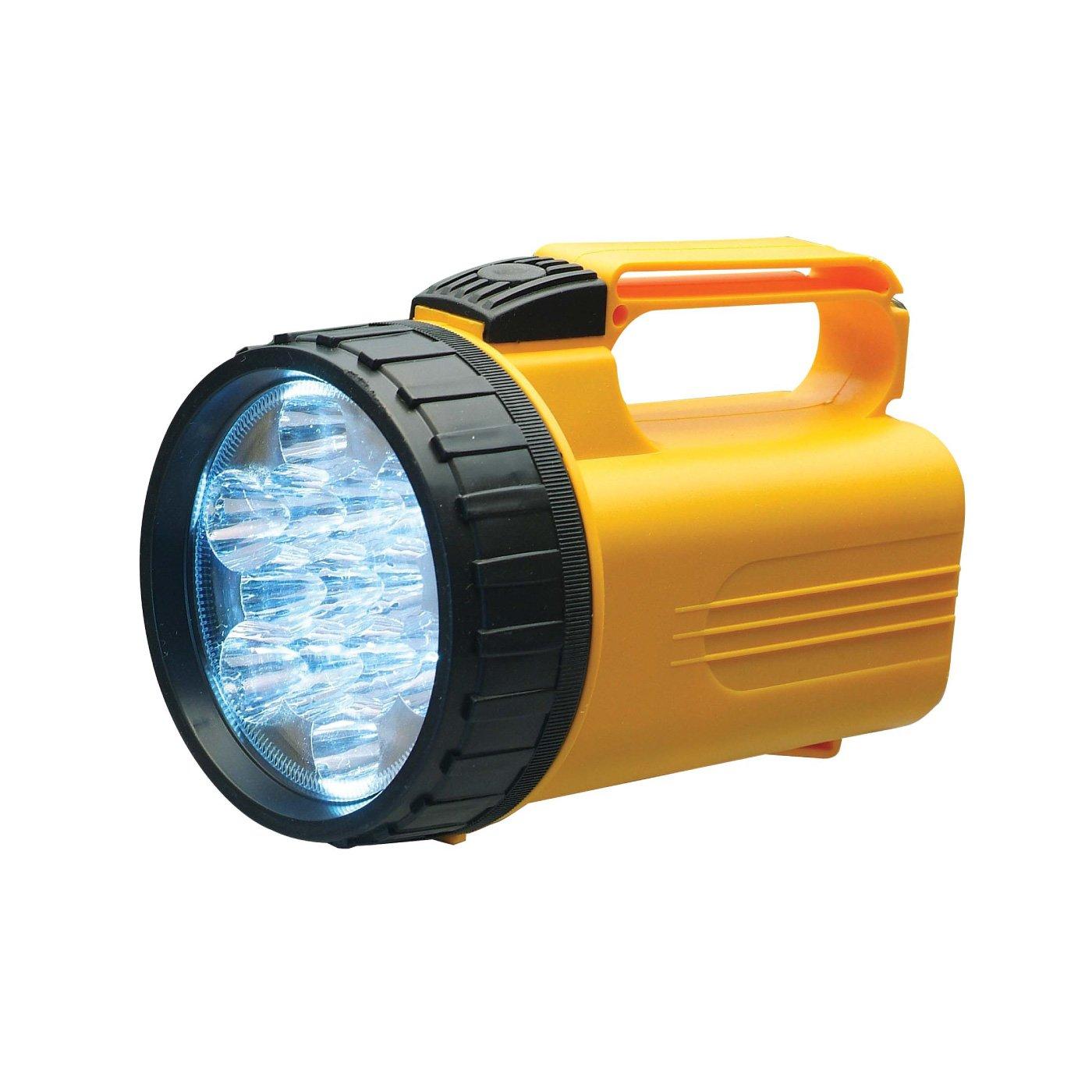 13個のLEDではるか遠くに光が届くスーパーライト