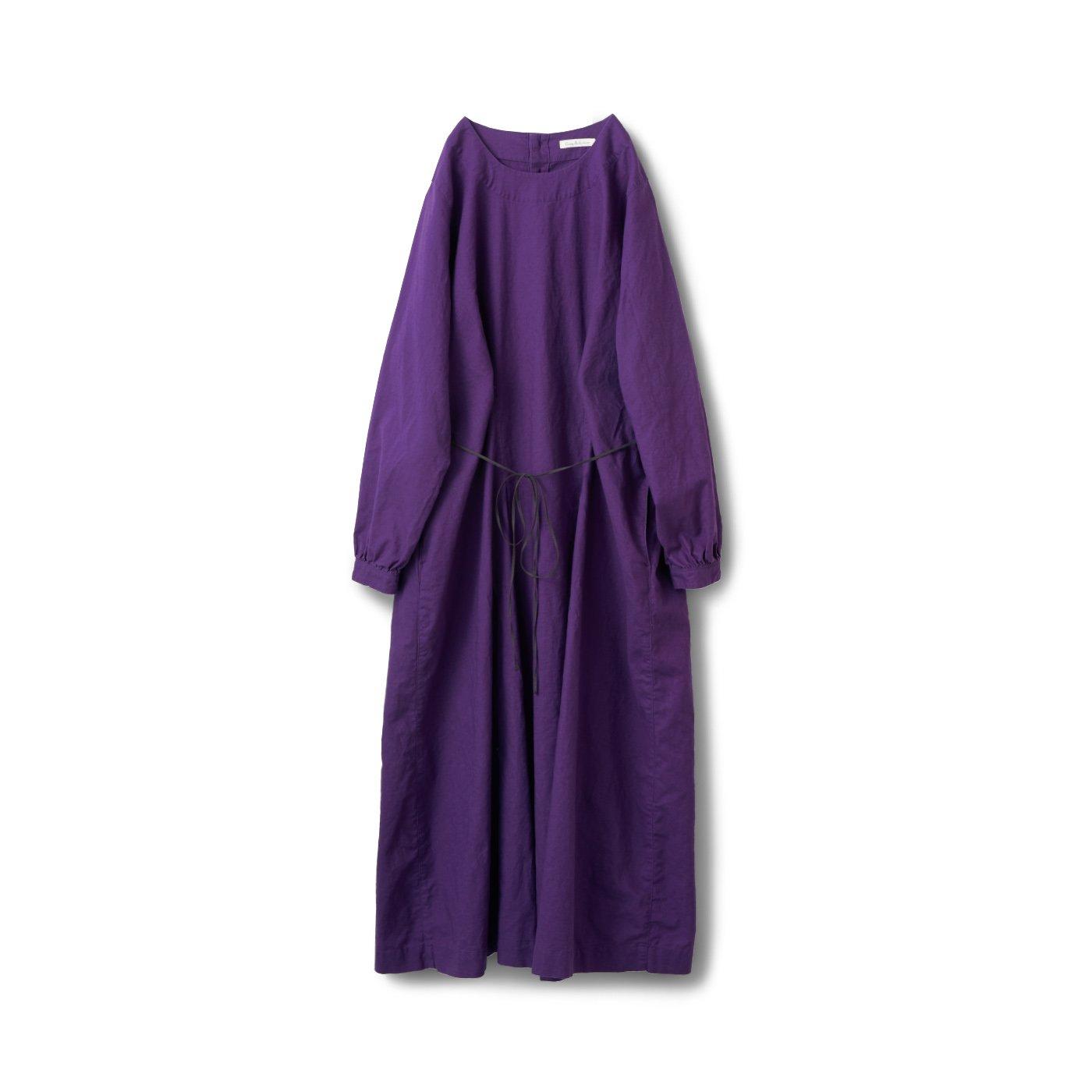 サニークラウズ 紫色式部ワンピース〈レディース〉