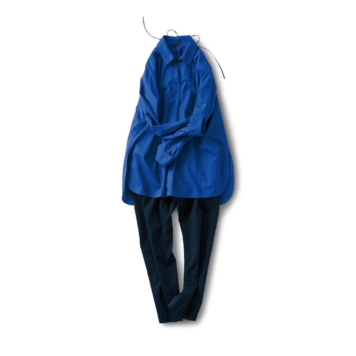 サニークラウズ 真っ青なシャツコーディネイト〈レディース〉
