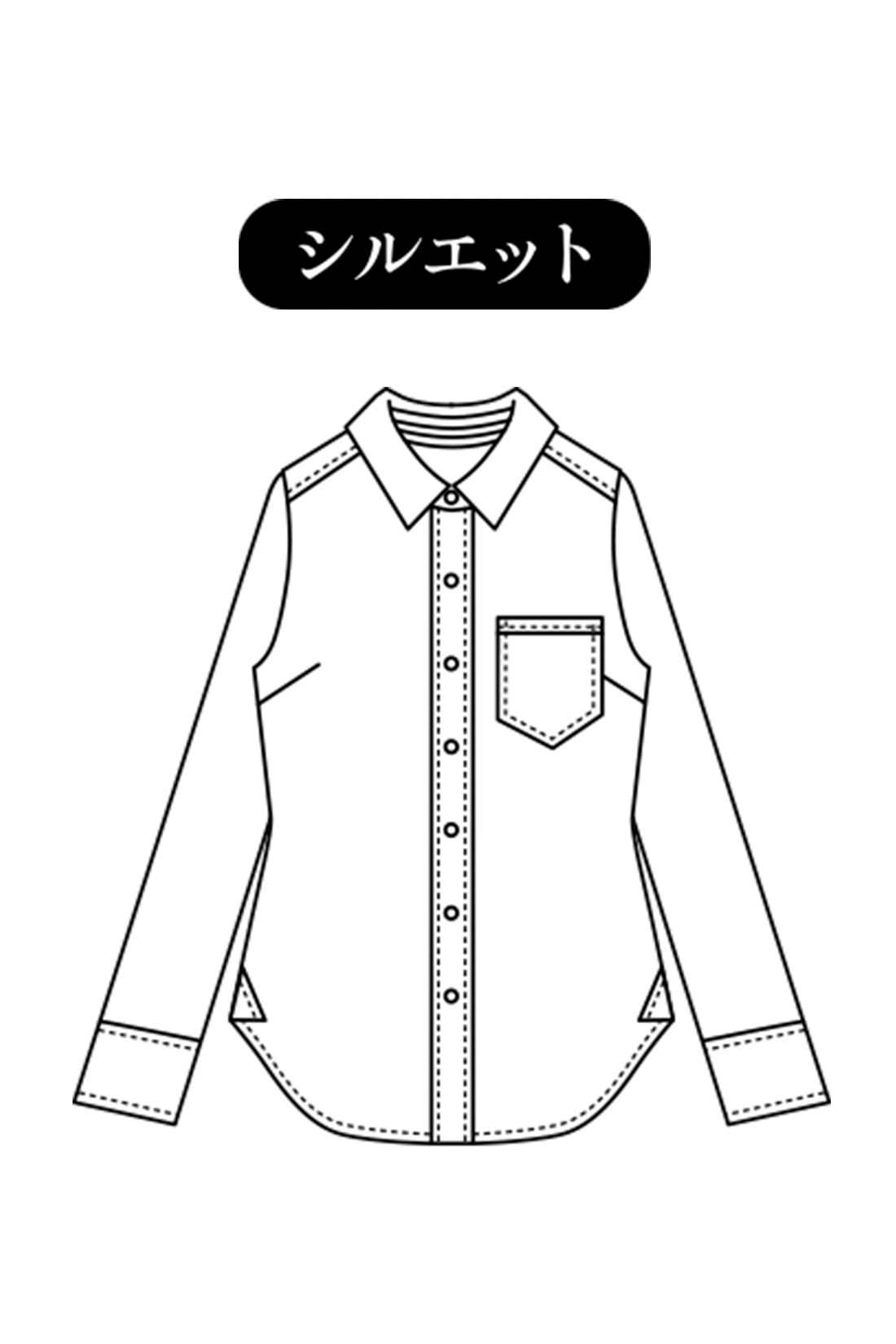 コンパクトな美シルエット ウエストが自然にシェイプするパターン設計で、袖を通すだけでからだがきれいに見えるシルエットを実現。 ※デザインは色により異なります。