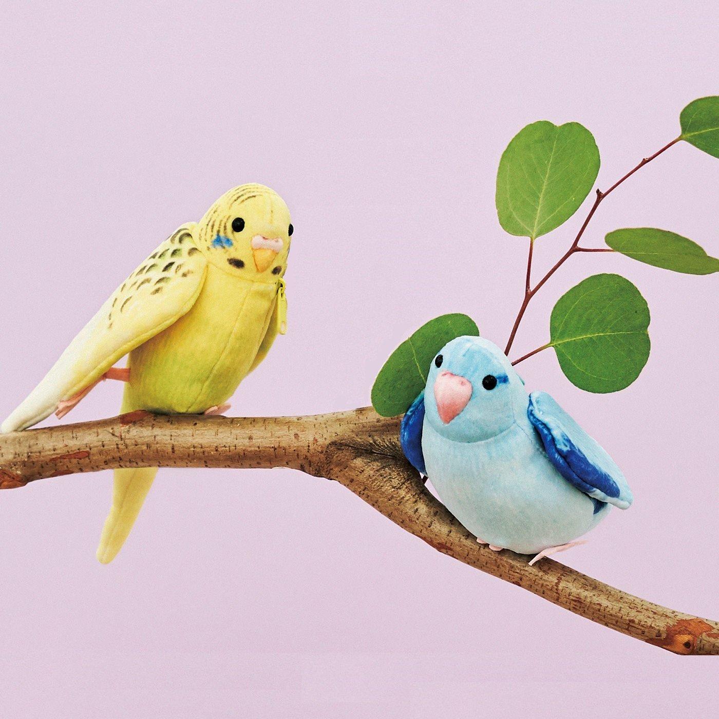 YOU+MORE!×小鳥部 愛らしいしぐさにきゅん もふもふインコポーチの会