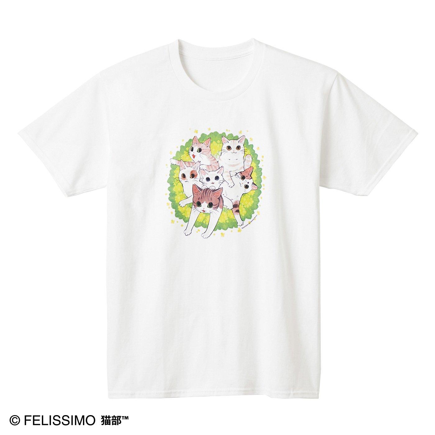 猫部×山野りんりん 地域猫チャリティーTシャツ2020