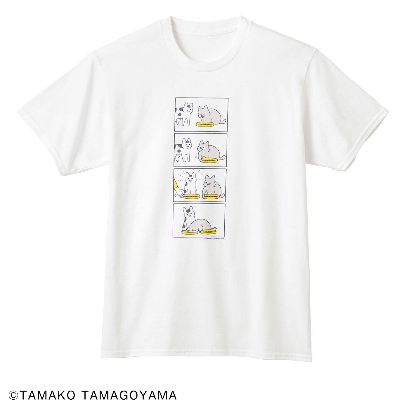 猫部×卵山玉子 地域猫チャリティーTシャツ2020