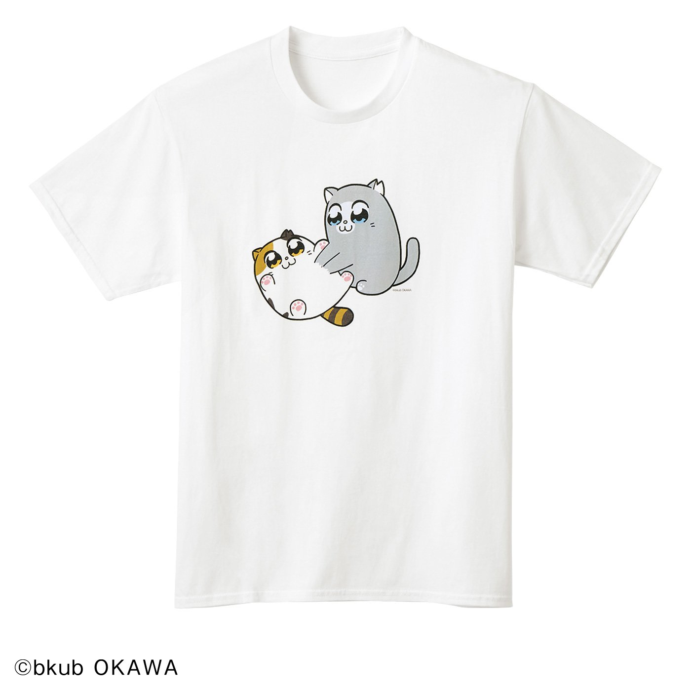 猫部×大川ぶくぶ 地域猫チャリティーTシャツ2020