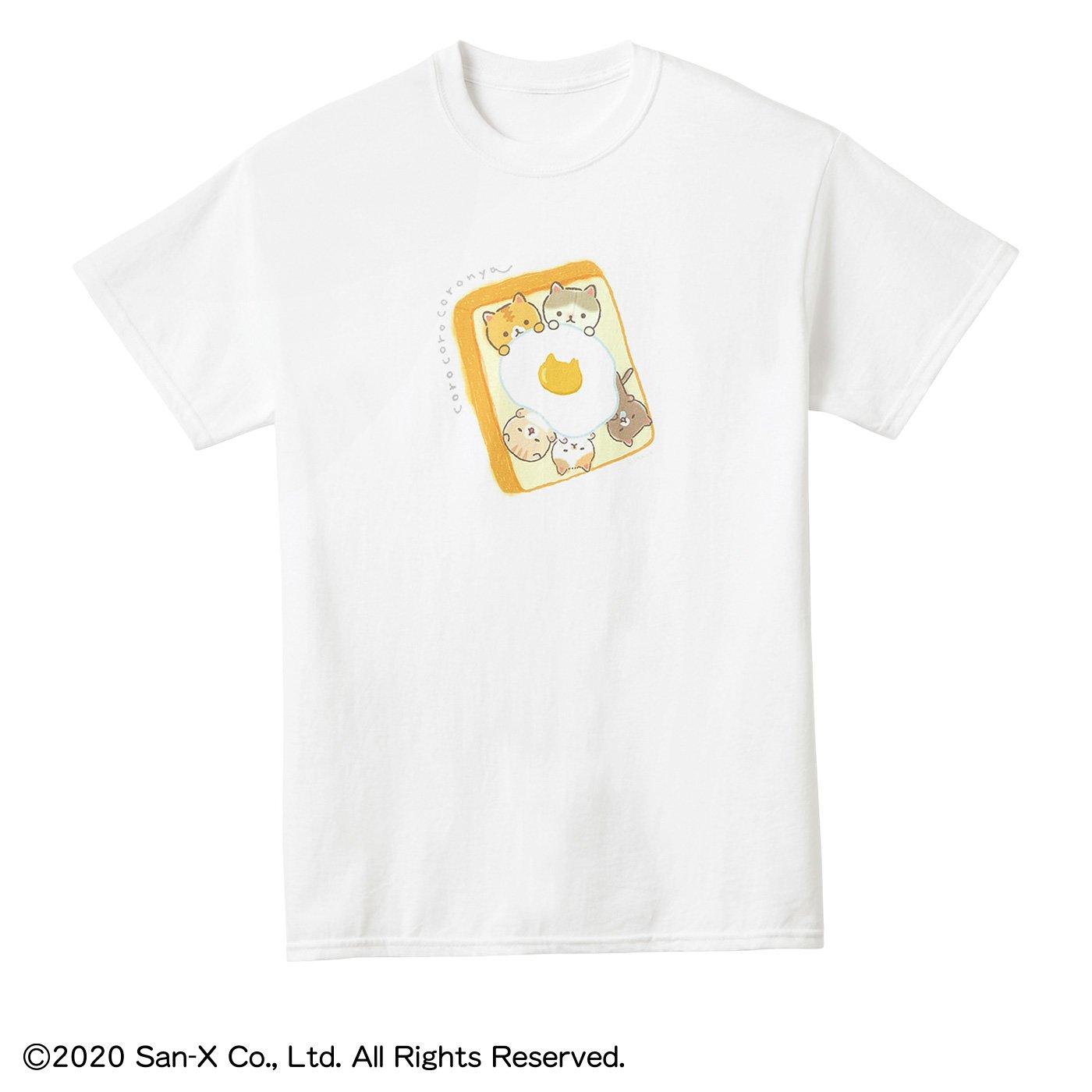 猫部×ころころコロニャ 地域猫チャリティーTシャツ2020