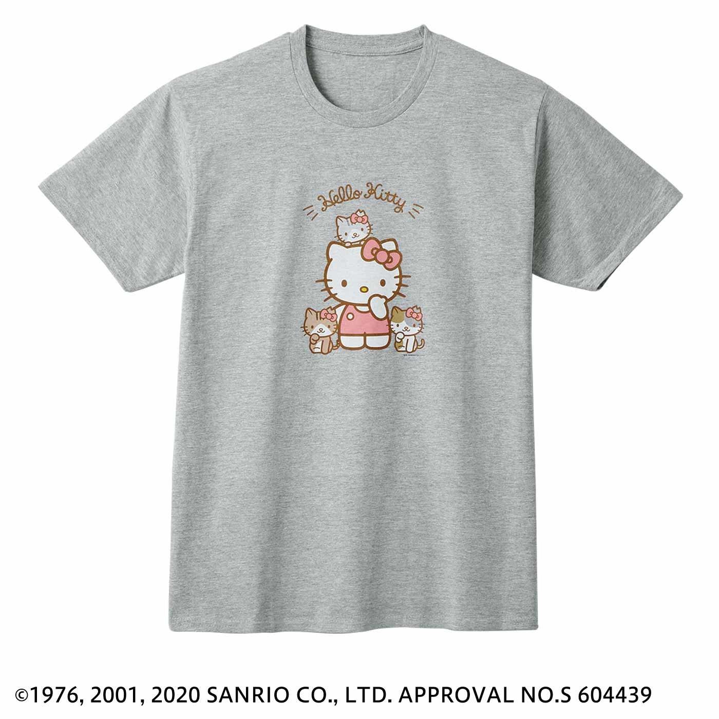 猫部×ハローキティ 地域猫チャリティーTシャツ2020