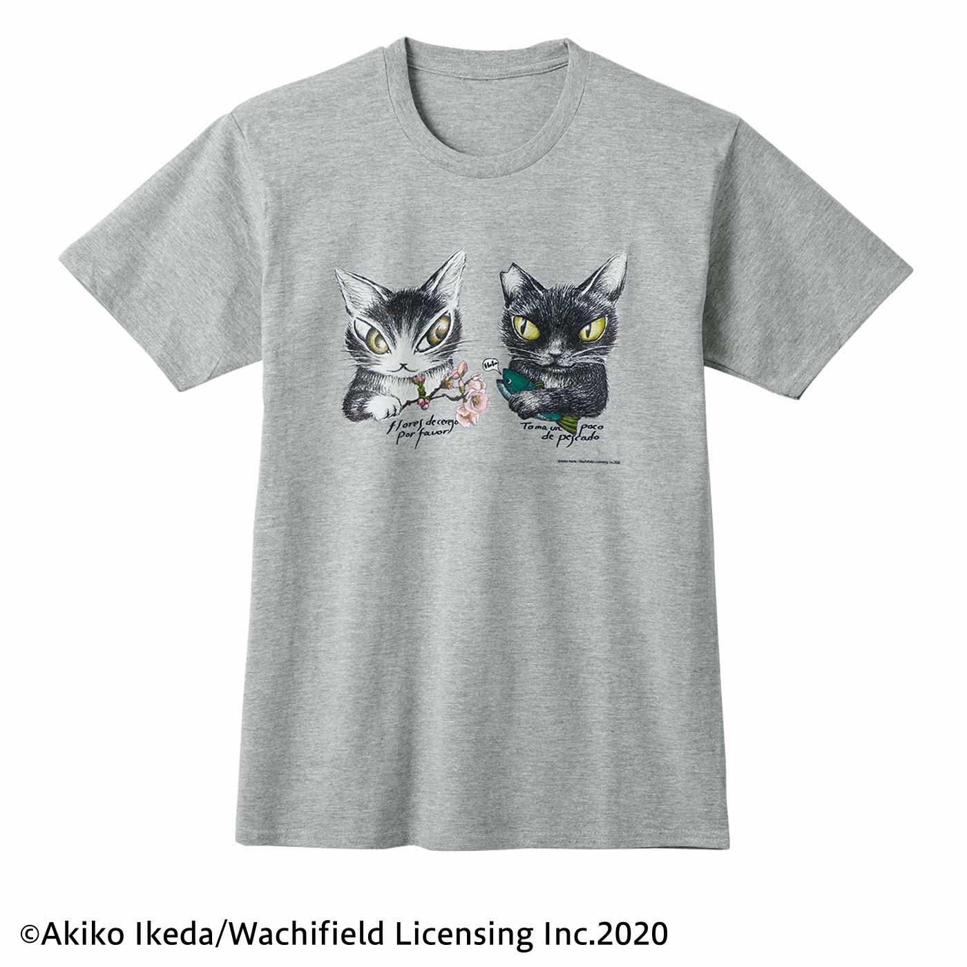 猫部×ダヤン 地域猫チャリティーTシャツ2020