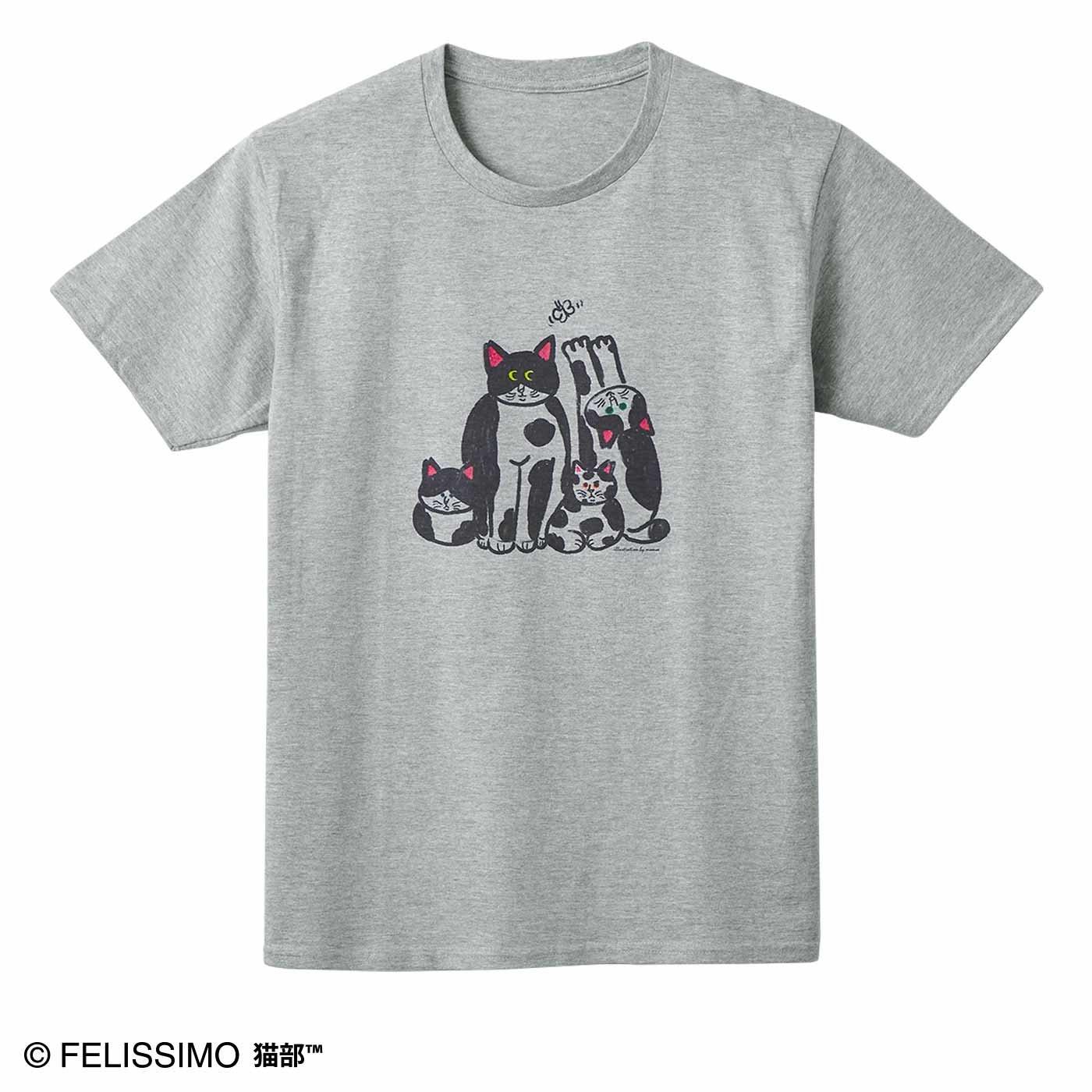 猫部×momoe 地域猫チャリティーTシャツ2020