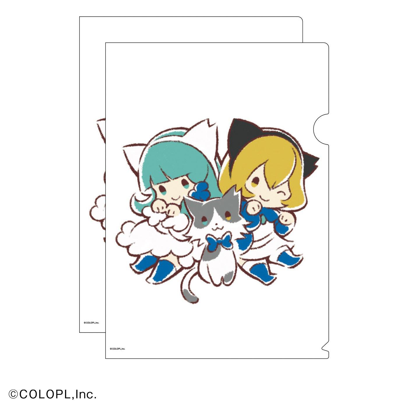 猫部×コロプラ 地域猫チャリティークリアファイル2020