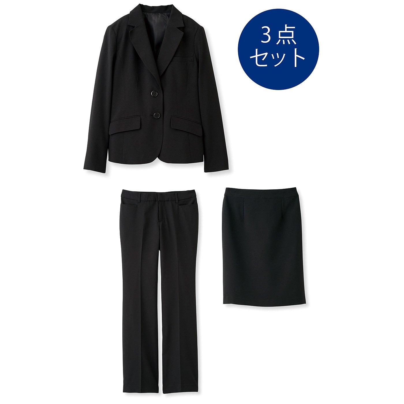 DRECOバイヤーズセレクト 万能!知的な働く女性のためのマニッシュ3点スーツセット