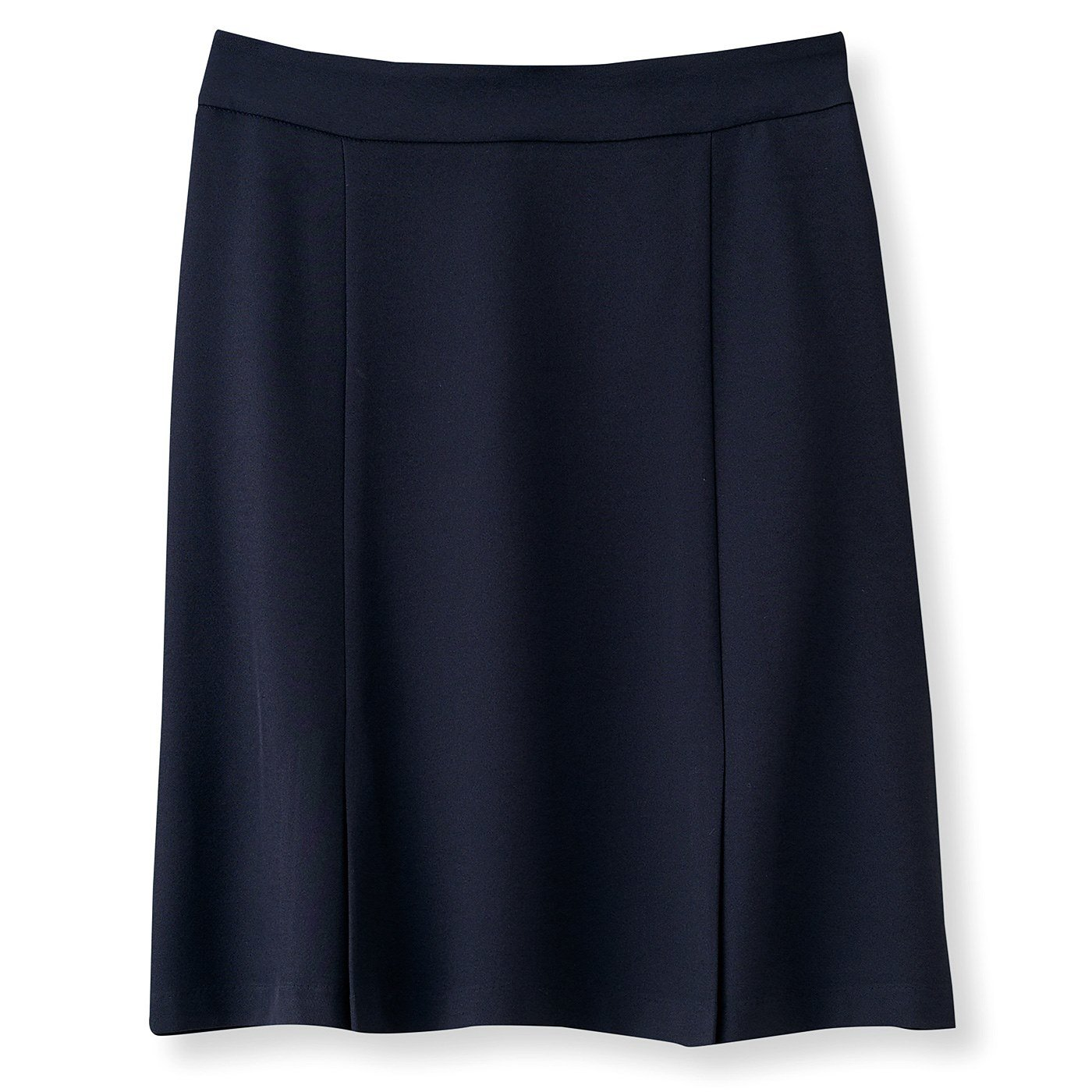 DRECOバイヤーズセレクト ドライシャーク素材の吸汗速乾ストレッチIラインスカート〈ネイビー〉