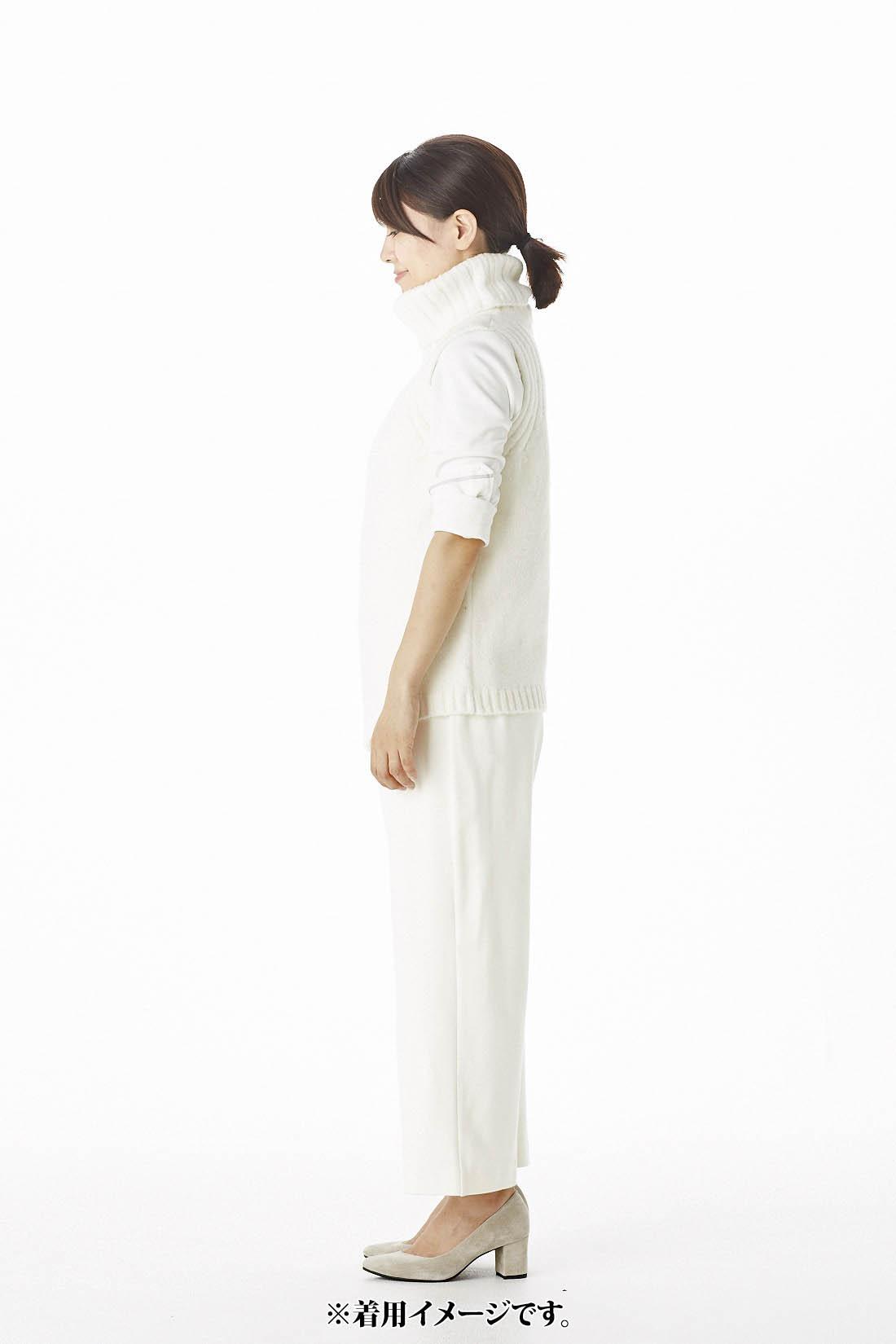 [スタッフ着用]身長158cm トップス:Mサイズ ボトムス:Mサイズ着用