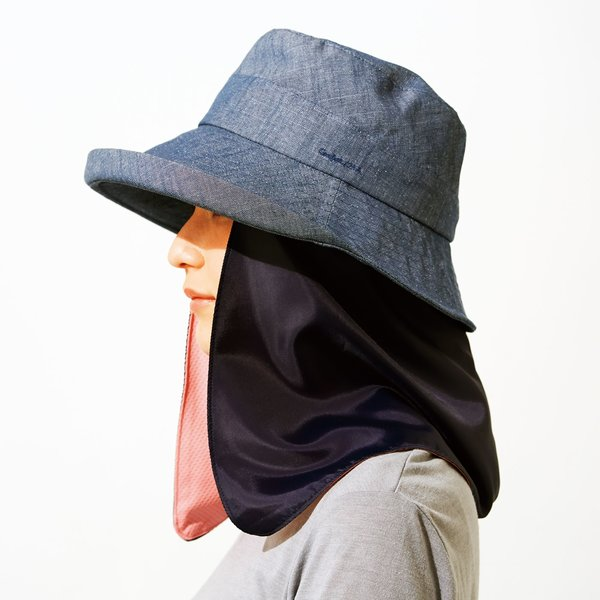帽子の機能アップ! UV99%カットカーテンの会