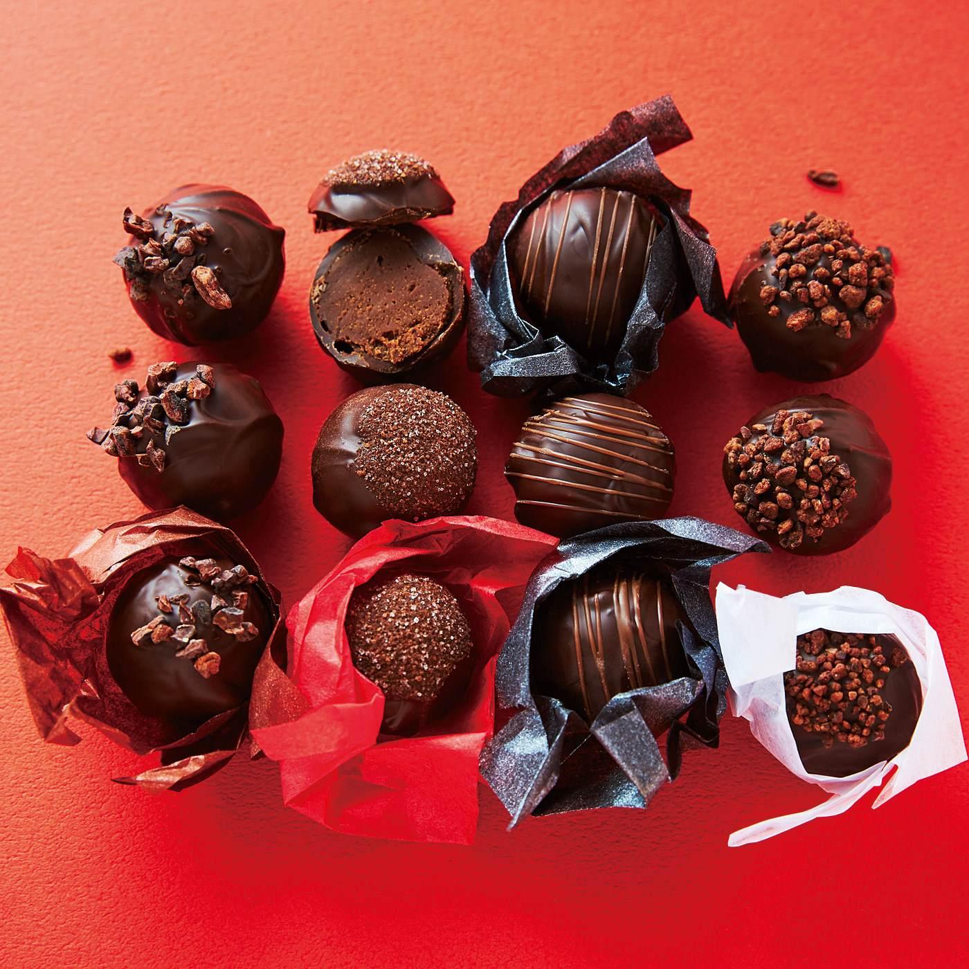 【ホワイトデイお届け】チョコレート アート トリュフアソート